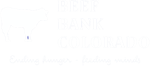 Beef Bank of Colorado Logo - White