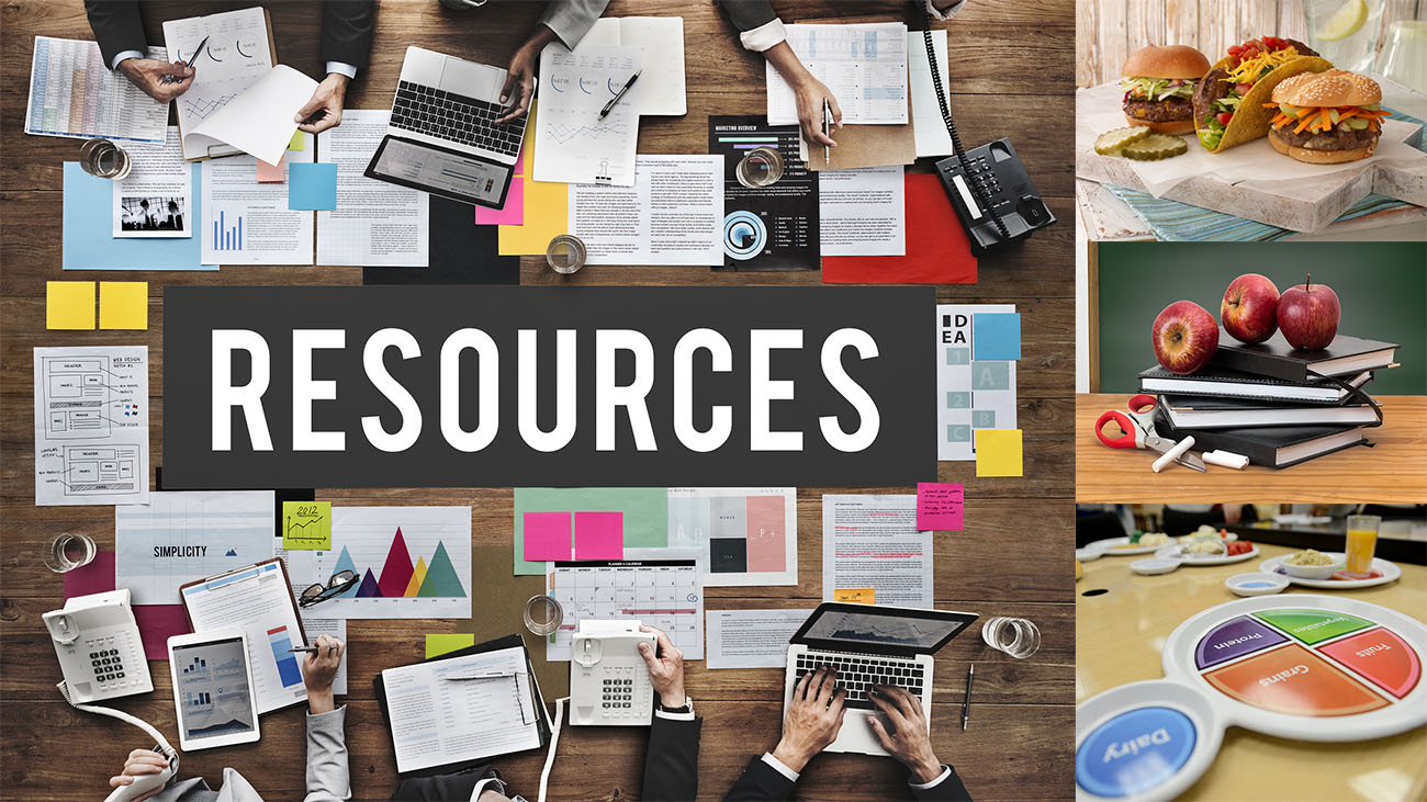 Resources header